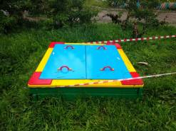 Монтаж детского оборудования в Суворове