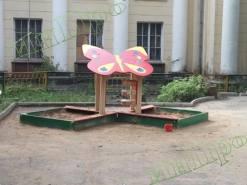 Монтаж детской площадки в Тульской области