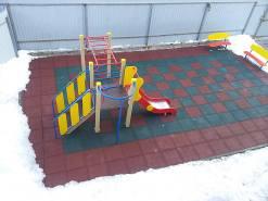 Детская площадка в частном детском саду в г.Рязань